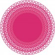 Circles with pink hearts — Stock Vector #2024730