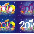 2010 - Stock Vector