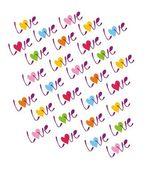 Aşk — Stok Vektör