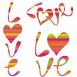 Vector de stock : Love