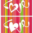 Abstract love backgrounds — Stock Vector #2534341