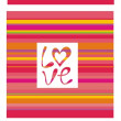 Abstract love backgrounds — Stock vektor