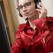 Woman on the phone — Stock Photo #1768286