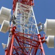 Telecommunications tower — Stock Photo #1768763