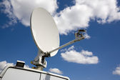 Satellite television transmitter — Stock Photo