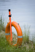 Life buoy ring o — Stock Photo