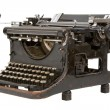Old fashioned, vintage typewriter — Stock Photo