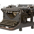 Stock Photo: Old fashioned, vintage typewriter