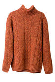 Orange sweater — Stock Photo