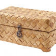 Wicker basket (box) from birch bark — Stock Photo #1897565