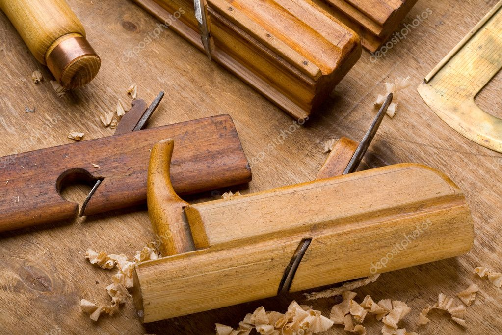 Old joiners planes — Stock Photo #2196597