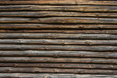Log cabin background — Stock Photo