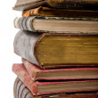 Royalty-Free Stock Photo: Pile of old books