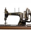 The old sewing machine — Stock Photo