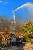 Firefighting — Stock Photo
