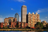 Horizonte de boston — Foto Stock