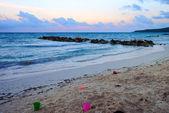 Jamaikanische sonnenuntergang — Stockfoto