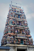A majestic temple in Southern India displaying wonderful architecture — Stock Photo