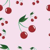 Cherry bakgrund — Stockvektor