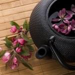 Pot of tea — Stock Photo