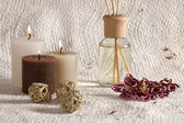 Aroma therapy items — Stock Photo
