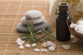 Aromatherapy items — Stock Photo