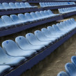 Empty stadim seats — Stock Photo