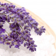 Royalty-Free Stock Photo: Lavender bath