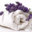 Stock Photo: Lavender bath