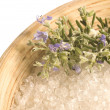 Stock Photo: Aromatherapy. herbs and spices