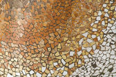 Detail of the ceramics from the Casa Batllo — Stock Photo