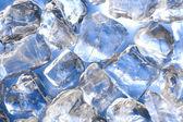 Zout, ijs en blauw water — Stockfoto