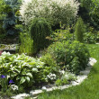 Stock Photo: Peaceful garden