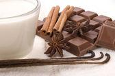 Chocolate spa — Stock Photo