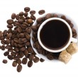 Stock Photo: Sweet coffee