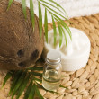 Coconut oil for alternative therapy — Stock Photo #1921063