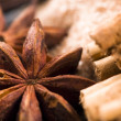 Aromatic spices with brown sugar — Stock Photo #2030374