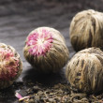 Green chinese tea balls — Stock Photo #2030406