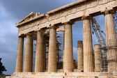 Parthenon temple in Acropolis, Athens — Foto de Stock