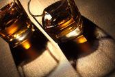 Glass of whiskey — Stock Photo