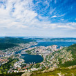 Bergen City — Stock Photo