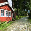 Old town of Bergen — Stock Photo