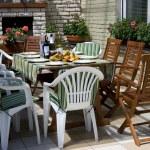 ������, ������: Breakfast on a terrace