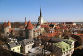 Tallin's Red Rooves — Stock Photo