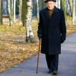 Imposing Old Man — Stock Photo