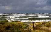 Autumn on a Baltic Sea — Stock Photo