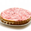 Homemade Strawberry Cake — Stock Photo
