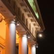 Illuminated Building With Columns — Stock Photo #2444887