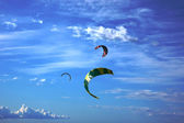Kites in the skies — 图库照片