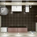 Modern interior of bathroom — Stock Photo #2495528